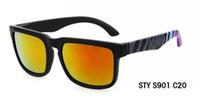 Diseñador de marca Spied Ken Bloque Helm Gafas de sol Multicolour Lentes de revestimiento Hombre Oculos De Sol Gafas de sol 21 colores