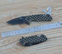 belt bottle opener - Sanrenmu LUI GHV T4 Folding Knife Black Tan G10 Handle Toolkit Belt Cut Glass Breaker Bottle Opener
