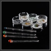 ashtray box - glass wax dish oil dabber Worked Concentrate Dish oil ring ashtray glass ash tray dish OIL RIG DISH DABBER for smoking