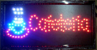 Wholesale 2016 Hot Sale Graphics mm semi outdoor X19 Inch COFETERIA Business Shop Ultra Bright Led signs