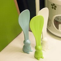 Wholesale Creative fashion rabbit Rice spoon meal ladle multifunctional kitchen accessories