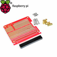 Wholesale DIY Proto HAT Shield for Raspberry Pi and Raspberry Pi Model B B A Red