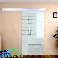 aluminium glass doors - Global Aluminium alloy sliding glass shower door hardware wheels