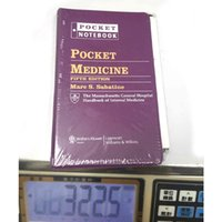 Wholesale Pocket Medicine Books Fifth Edition ISBN Written by Marc S Sabatine book via DHL