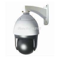 Wholesale CCTV Security P MP HD IP ONVIF High Speed Dome POE PTZ Camera X ZOOM Surveillance Pan Tilt IR CUT Audio In Out IR M