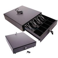 Wholesale Cash Drawer Box Works Compatible POS Printers w Bill Coin Tray