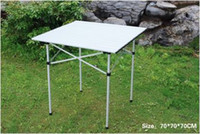 alu camping table - Light weight Alu table Easily foldable as a whole set into a durable carrying bag Perfect choice for outdoor camping