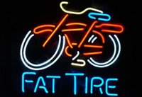 belgium business - Business Custom NEON SIGN board For New Belgium Brewing Company Fat Tire GLASS Tube BEER BAR PUB Club Shop Light Signs quot