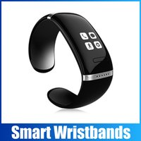 apple music recording - L12S Bluetooth Smart OLED Touch Screen Bracelet Wristband Watch Cell Phone Pedometer Tracking Vibration Massage Playing Music Recording