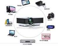 Wholesale UC40 projector Mini Pico portable Projector AV VGA A V USB SD with VGA HDMI New Home Theater Projectors Mini projetor