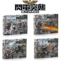 Wholesale New Doll Blitzkrieg Empire Marine Defense Forces Military Building Block Toy Army Solider Brick Minifigures