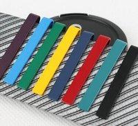 Wholesale Top Grade Men Tie Clips Tie Bars Necktie Clips Formal Dress Shirt Gift Narrow tie clip Multi color can choose color tie clip tide L541