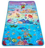 alphabet learning mats - 2016 New Waterproof Baby Play Mats Double Sides Baby Crawling Pads Alphabet Learning Mats Camping Tent Beach Mats Picnic Blankets