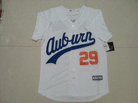 best waterproofing - 29 Bo Jackson Jerseys Auburn University Baseball Jersey White Throwback VINTAGE Baseball Jersey Size M XL Stitched Best Quality