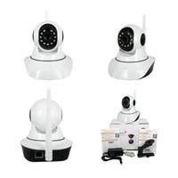 Wholesale WIFI alarm syestem CCTV P HD IP Camera with Smoke Detector Gas Sensor PIR Sensor WiFi Phone App Remote Control Monitoring