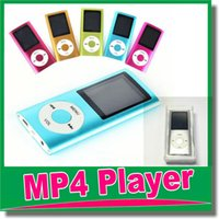 lcd media player - New quot LCD Screen MP3 MP4 Multi Media Video Player Music FM Radio th Gen with TF SD card slot for gGB TF Card with box OM D8