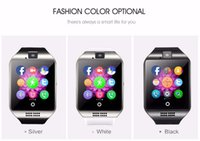 beautiful digital clock - Smart Watch Q18 Arc Clock With Sim Card NFC Bluetooth Connection for iphone Android Phone Smartwatch Beautiful Than U8