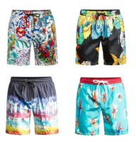 Wholesale NEW DSQ Beach Short For Men Summer Surf flowers printing Men clothing Sports masculino board shorts