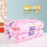 Wholesale Brand New China Silk filling Quilt cm kg cartoon cover handmade silk comforter Blanket PC Freeshipping