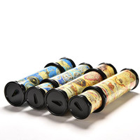 Wholesale High Quality cm Rotating Kaleidoscopes Colorful World Preschool Toys Style at Random Best Kids Gifts