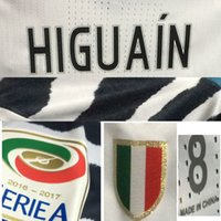 Wholesale 2016 Serie A rd Away Match Worn Player Issue Higuain Dybala Pjaca Pjanic Shirt Jersey Custom Soccer Patch