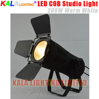 barn photography - Professional Theatre Studio Meeting Photography K W Leko LED COB Warm White Spotlight With Barn Door