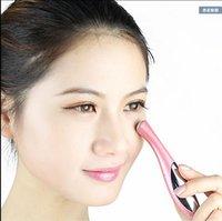 Wholesale Face Care Massager Eyes Wrinkle Removing Pen Electronic Eye Massage Instrument Vibration Beauty Pen DHL