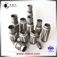 auto exhaust repair - SS SS201 stainless steel braided flexible pipe without inter liner for auto exhaust system repair kits
