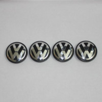 Wholesale 4 VW mm JETTA Wheel Center Caps Emblem Volkswagen Wheel Center Hub Caps PASSAT Emblems