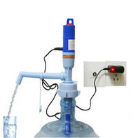 Wholesale electric pump suction charge drink dispenser automatic for gallon L drinking water bottle bottled bucket