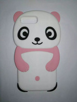 apples panda - Cartoon Silicone Case For Apple iPhone Plus Plus S C S D Cute Panda Soft Silicone Case For iPhone Plus