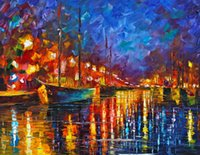 Wholesale Fine Art Print Reproduction High Quality Giclee Print on Canvas Home Decor Landscape Painting DH186