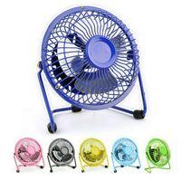 ac pc fan - 1 inch USB Electric Fan Power AC AdapterUltra Quiet Summer Mini Table Fan Cooler Notebook Dormitory Desk Fan