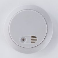 Wholesale Factory V battery operated fire alarm stadnalone photoelectric home use cigarette smoke detector