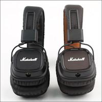 Cheap BEST Marshall Major II Marshall Major 2nd Generation Headphones Mic Hi-Fi DJ Foldable Headsets Earphones Beatsstudio Available