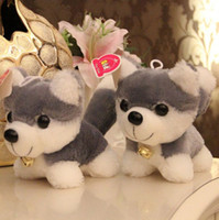 baby christmas presents - HOT Sale Kawaii CM Simulation Husky Dog Plush Toy Gift For Kids Baby Toy Birthday Present Stuffed Plush Toy