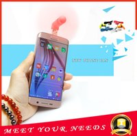 Wholesale NEW mini Portable Flexible Portable Super Mute USB Cooler Cooling Mini Fan For Android S6 S7 Phone