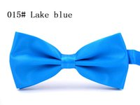 army manual - 26 Colors OPP packaging double manual BOW TIE light color adult gentleman Bow tie leisure wedding fashion party wedding han edition bow tie