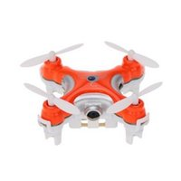 Wholesale Mini Drone Cheerson CX C Remote Control RC Helicopter with W Camera LED Light G CH Axis D Roll Quadcopter Drone