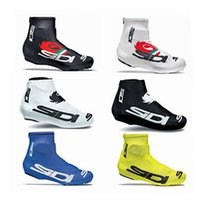 bicycle protective cover - Hottest SI DI Cycling Shoes Cover Bicycle Shoes Care Cycling Tight Bike Kits Black White Blue Yellow Winter Thermal Cycling Protective S XL