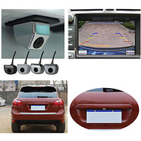 Wholesale FKH Diagonal Waterproof Car Rearview Reverse Back Up Color CMOS NTSC Camera