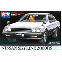 automotive model kits - Tamiya Scale Automotive Model Car NISSAN SKYLINE RS Hobby Plastic Model Kit