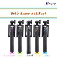 aluminum lever - The new mobile phone self timer bar gift custom wireless Bluetooth self timer bar phone artifact artifact lever