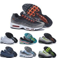 Cheap 2016 high quality Air 95 OG Greedy retro Running Shoes Men Max Original max 95 OG Neon Green Black Men Sneakers Wholesale