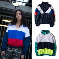 austrian flag - Five clubs Rubchinskiy cloak female high quality cotton five clubs Russian flag coat coat coat cloak Austrian five agency Rubchins