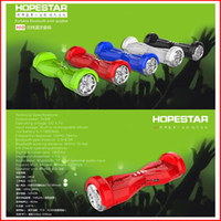 balance wireless - H10 Balance Car Scooter Portable Wireless Bluetooth Mini Speaker Twisting Car Balancing Wheel Hoverboard Shape Stereo TF USB Handsfree VS H7