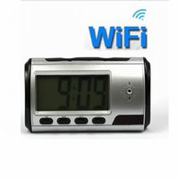 baby monitor sale - Hot sale Full HD P WIFI Camera Digital Smart alarm Clock Mini Camcorders Home security baby monitor