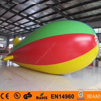 advertising blimps - Colorful m giant Inflatable Zeppelin Inflatable Airship Inflatable Advertising Blimp for Events