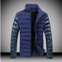 Wholesale Winter jacket men Real fur down parka Black winter jackets men s Button Pockets Thick Man clothing Plus size High quality down jacket