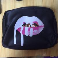 Wholesale 2016 Kylie Makeup Bag Birthday Collection kylie jenner Make up Bag Cosmetic Bag Kylie lip kits DHL